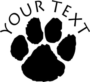 WildCat Paw decal